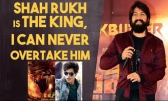 Yash on KGF overtaking Shah Rukh Khan's Zero collection