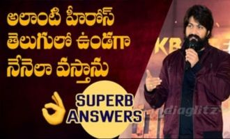 Yash rocking answers KGF hero on Tollywood entry