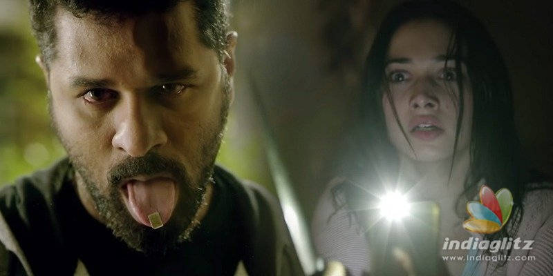 Chilling trailer of Prabhu Deva-Tamannaahs movie out