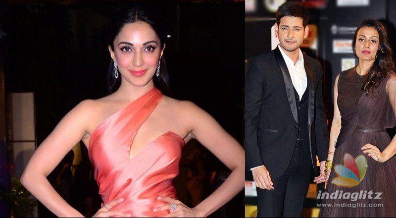 Kiara thanks Mahesh Babu & Namrata