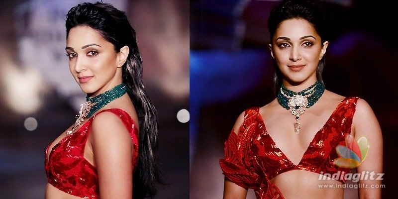 Pic Talk: Kiara blows away your mind in red lehenga