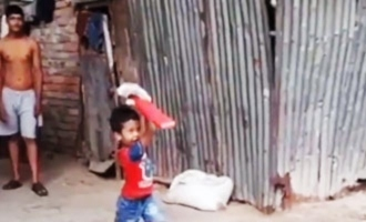 Netizens describe kid as a future cricketing legend after video goes viral!