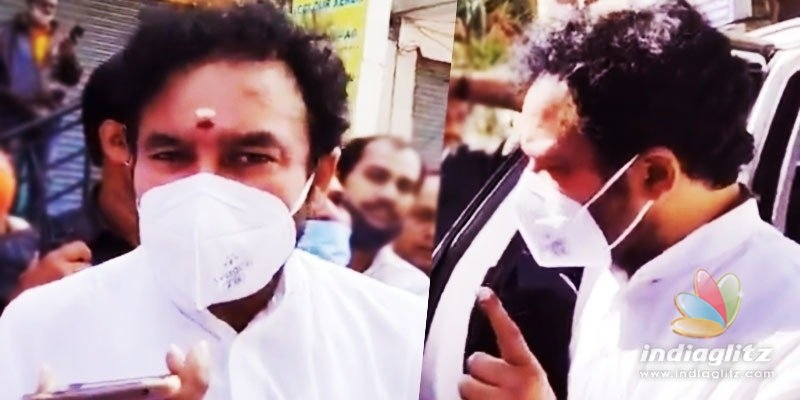 Kishan Reddy makes an angry call to GHMC Commissioner
