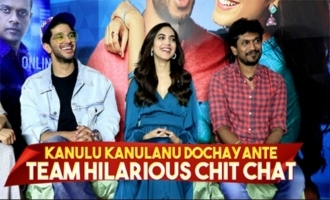 Hilarious Chit Chat With Kanulu Kanulanu Dochayante Team