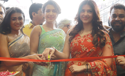 Catherine, Mahreen Launches KLM Fashion Mall @ Vizag