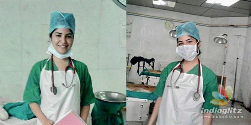 COVID-19: Bollywood actress becomes nurse at hospital