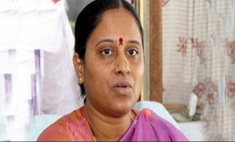Konda Surekha blasts KCR over Nandamuri Harikrishna