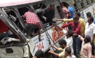 Kondagattu bus tragedy: 40 feared dead