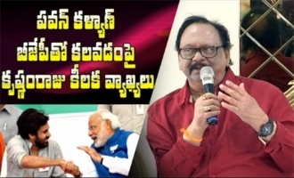 Krishnam Raju Comments On Pawan Kalyan Alliance With BJP | Krishnam Raju Sensational Comments