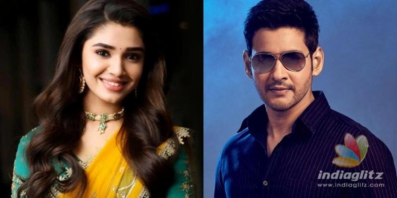 Kriti Shetty to romance Mahesh Babu!!