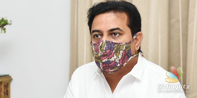 Did KTR just break social distancing norms? Read how