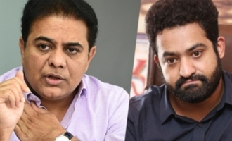 KTR directs DGP to act against abusive fans of Jr NTR