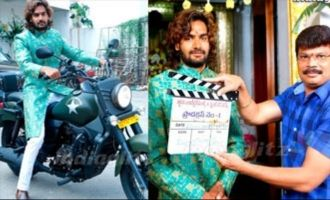 RX 100 Karthikeya's new movie launched
