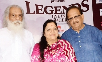 Legends Live Concert Press Meet