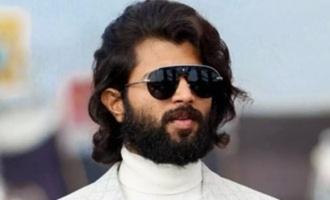 Vijay Deverakonda gives an update on 'Liger'