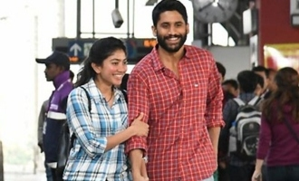 Sai Pallavi-Chay's stills from 'Love Story' hit right notes