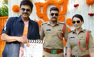 Action-thriller '22' launched on Venkatesh's hands