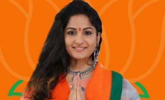 BJP gives ticket to actress Madhavi Latha