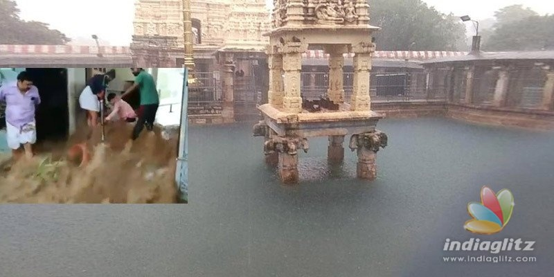 Mahanandi temple flooded in Kurnool district