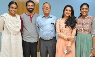 Mahanati Team At Hyderabad Theaters