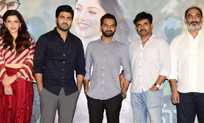 'Mahanubhavudu' Trailer Launch