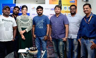 'Mahanubhavudu' Team @ Radio City