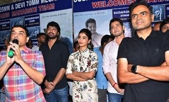 'Maharshi' Team At Sudarshan 35mm , Hyd