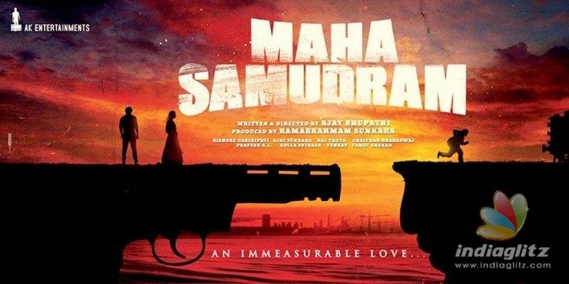 Maha Samudram Theme Poster raises curiosity!
