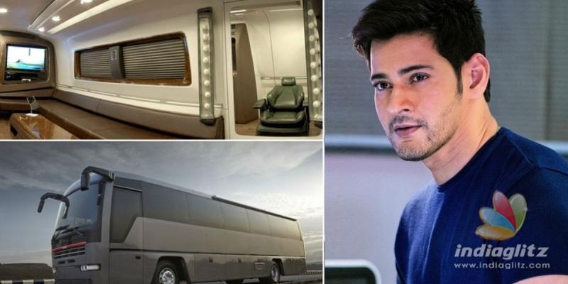 Viral news! Mahesh Babu spends a bomb on a luxurious caravan