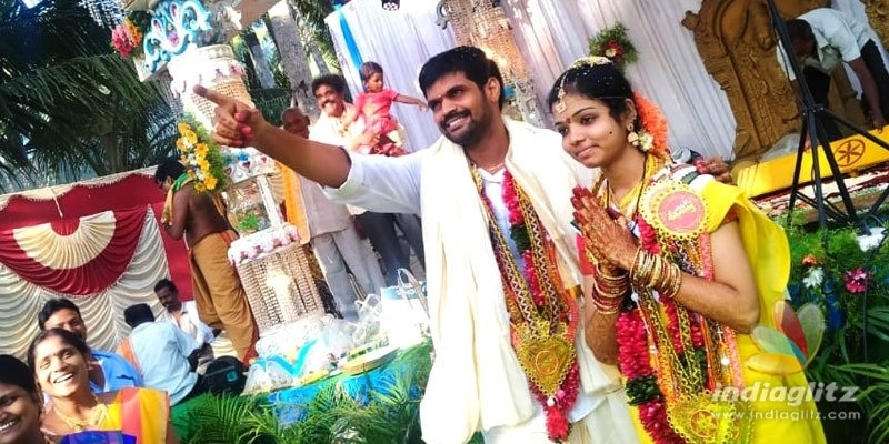 Rangasthalam Mahesh gets married