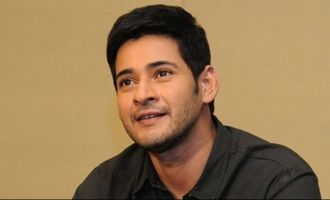 Mahesh pulling young hero's leg in this video?