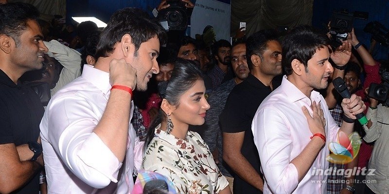 Mahesh does it again for fans!