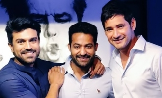 Mahesh's 'dream trip' with Charan, Tarak & that legend