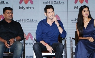 Mahesh Babu's Humble Brand - Myntra Press Meet