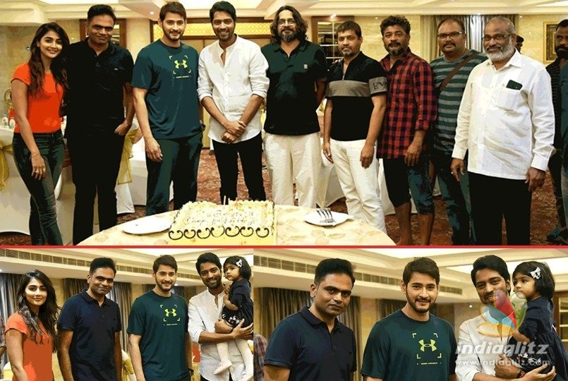 Mahesh & team celebrate Allari Nareshs birthday