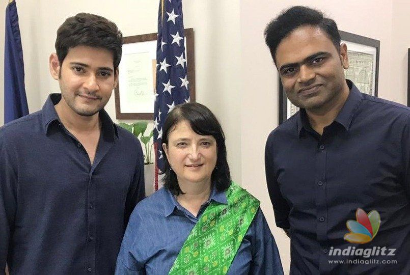Official proud of Mahesh Babu being in NYC