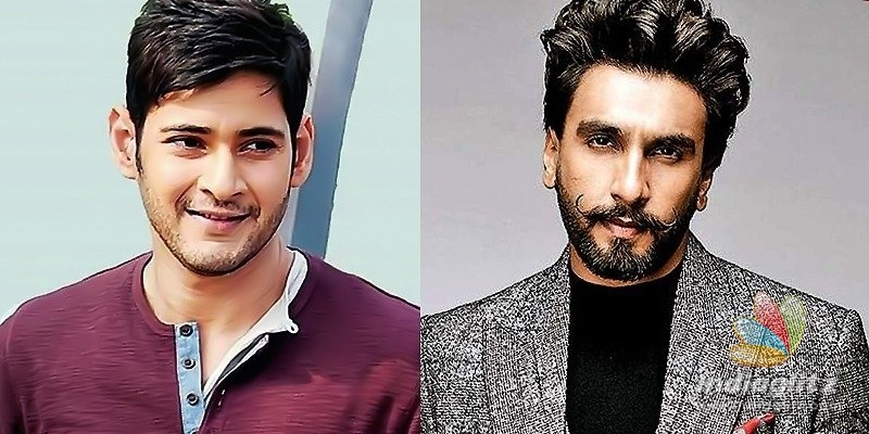 Mahesh Babus multi-starrer with Ranveer Singh on cards?