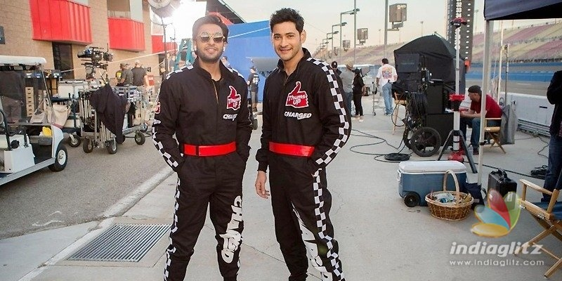 Mahesh & Ranveer shoot together