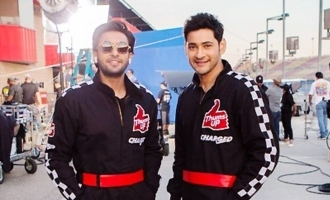 Mahesh & Ranveer shoot together