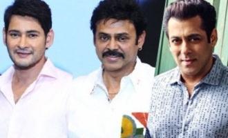 Mahesh Babu, Venkatesh wish Bollywood superstar Salman Khan
