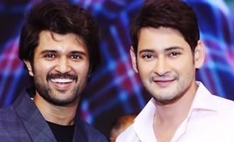 Mahesh Babu-Vijay Deverakonda bonding continues