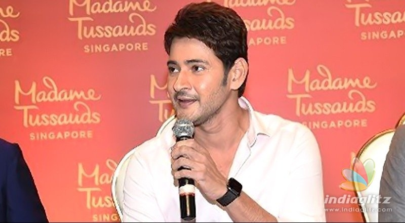 Mahesh Babu on his wax statue, Maharshi & more