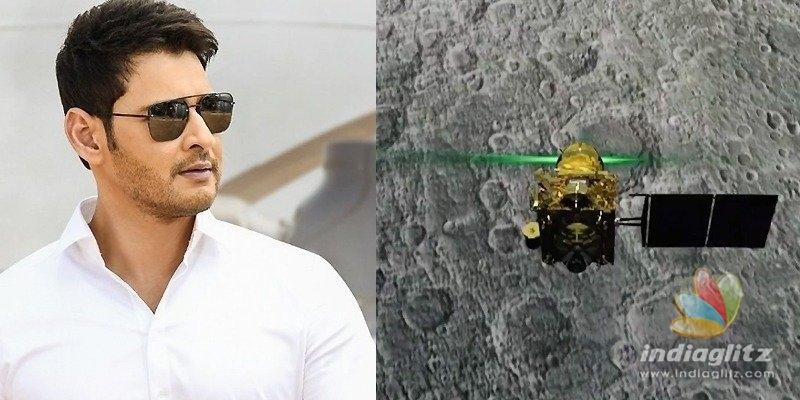 Chandrayaan-2: Mahesh Babu uses Maharshi line