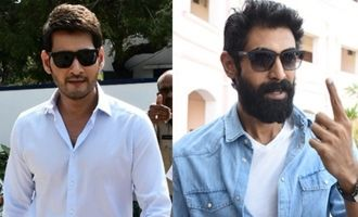 Mahesh Babu, Rana Cast Their Votes In Telangana Elections
