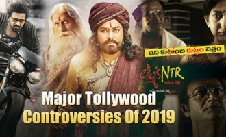 Major Tollywood Controversies Of 2019