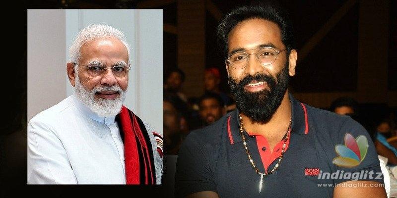 Manchu Vishnu is a huge admirer of Modi despite Vizag Steel Plant issue