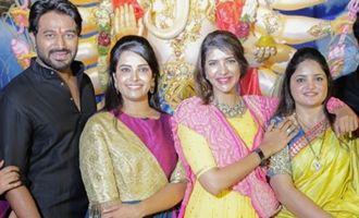 Lakshmi Manchu @ OMG Association Ganesha Pooja