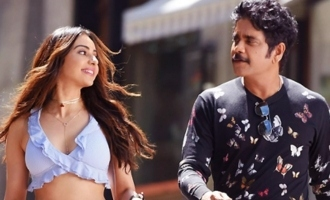 'Manmadhudu-2' stickers capture different moods