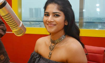 Megha Akash @ Radio Mirchi