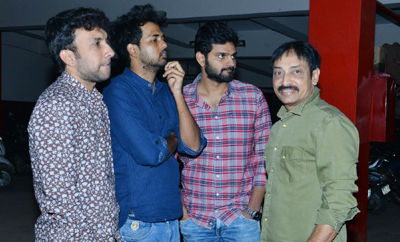 'Mental Madhilo' Team @ Sandhya Theater